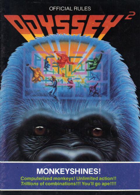 Odyssey 2 – Monkeyshines (Manual)