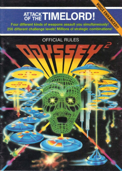 Odyssey 2 – Attack of the Timelord (Manual)