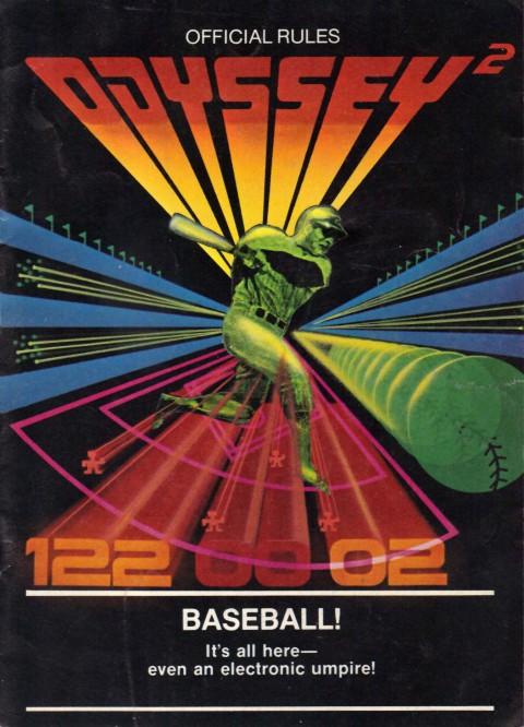 Odyssey 2 – Baseball (Manual)