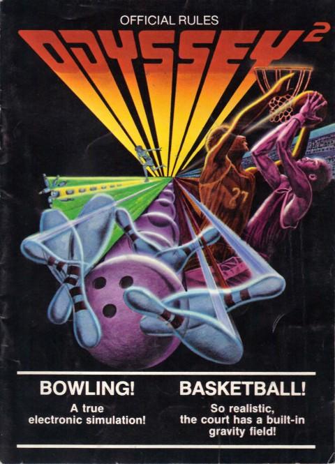 Odyssey 2 – Bowling / Basketball (Manual)