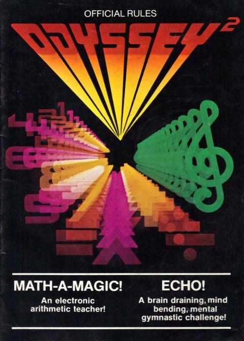 Odyssey 2 – Math a Magic / Echo (Manual)