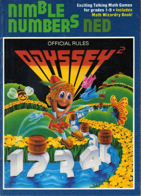 Odyssey 2 – Nimble Numbers Ned (Manual)