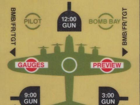 B-17 Bomber (Intellivision Insert)