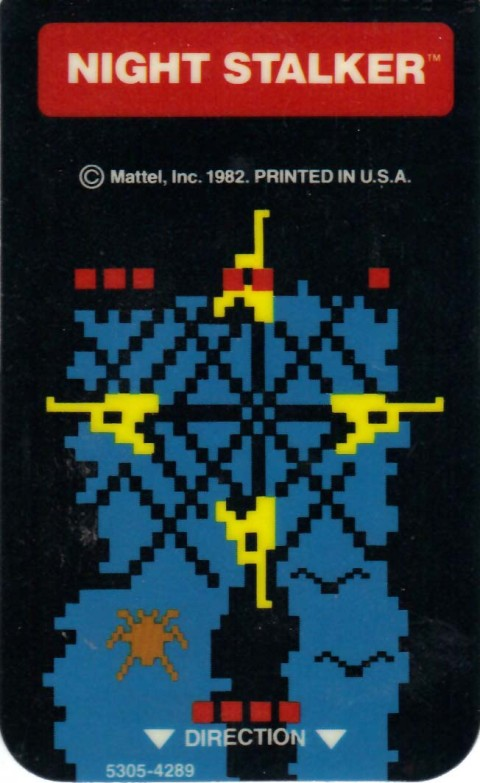 Night Stalker (Intellivision Insert)