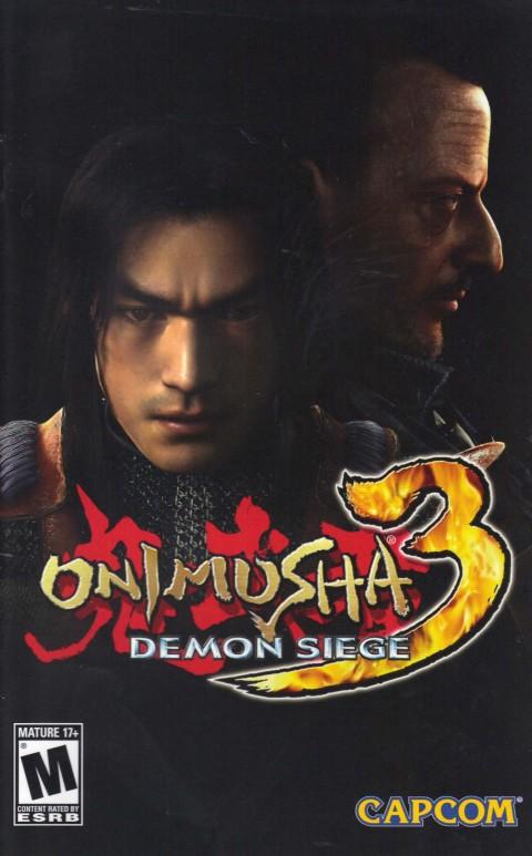 Onimusha 3 (PS2 Manual)