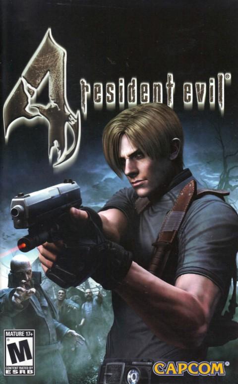 Resident Evil 4 (PS2 Manual)