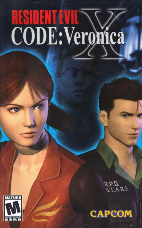 Resident Evil: Code Veronica X (PS2 Manual)