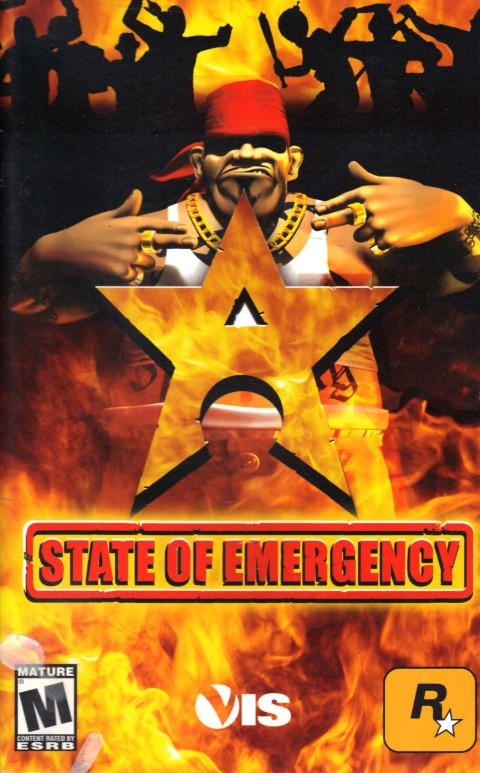 State of Emergency (PS2 Manual)