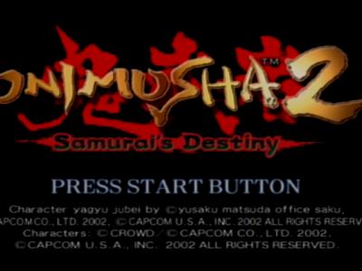 Onimusha 2 (PS2)