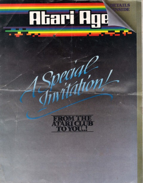 Atari Age – Special Invitation (Misc Scan)