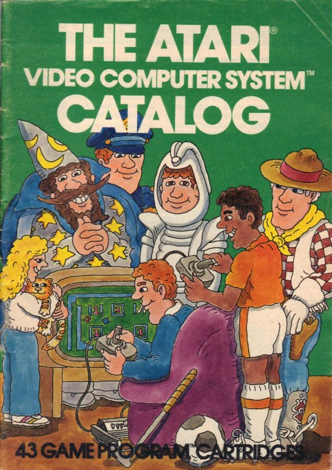 Atari Video Computer System Catalog (Misc Scan)