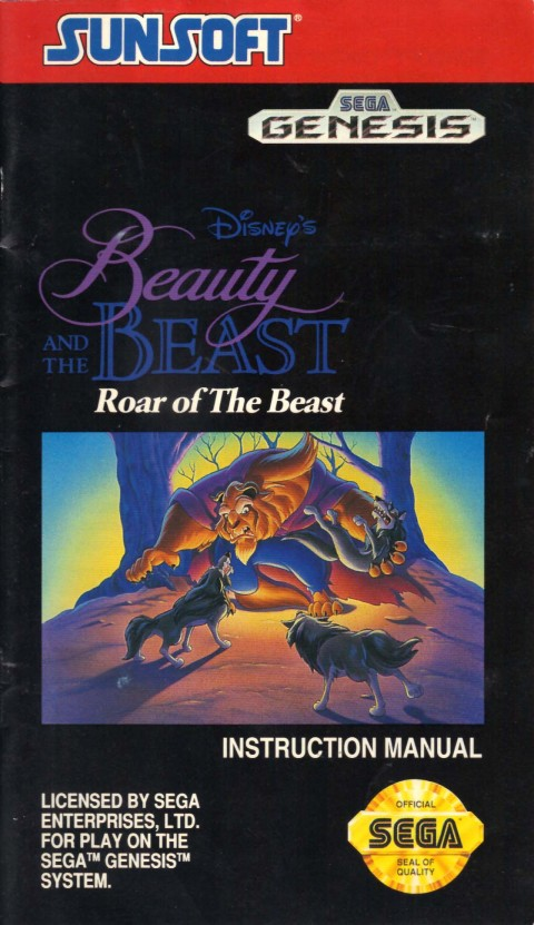 Beauty and the Beast: Roar of the Beast (Manual)