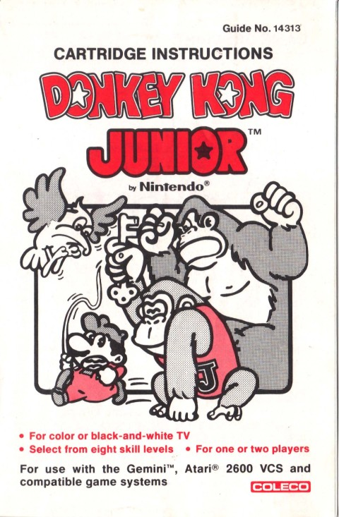 Donkey Kong Jr (Manual)