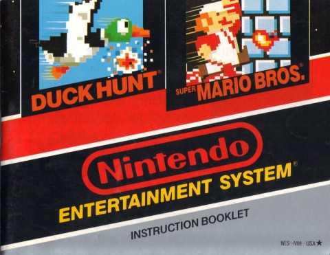 Duck Hunt / Mario Brothers (Manual)