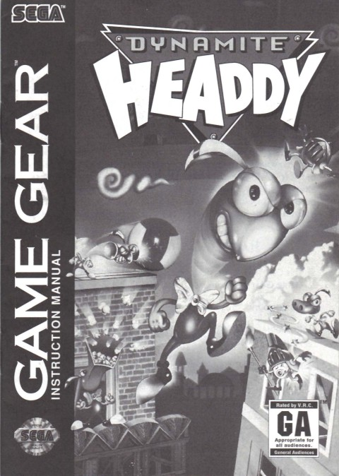 Dynamite Headdy (Manual)