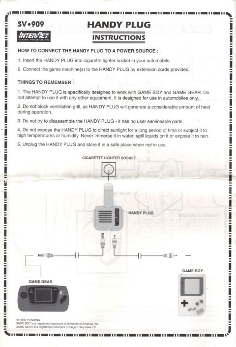Handy Plug (Manual)