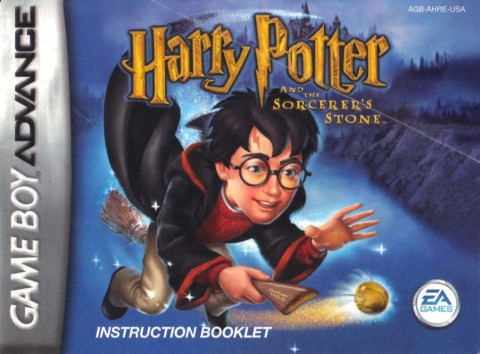 Harry Potter and the Sorcerers Stone – (GBA Manual)
