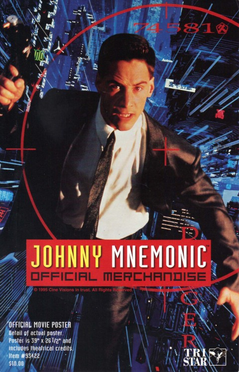 Johnny Mnemonic – Merchandise Catalog