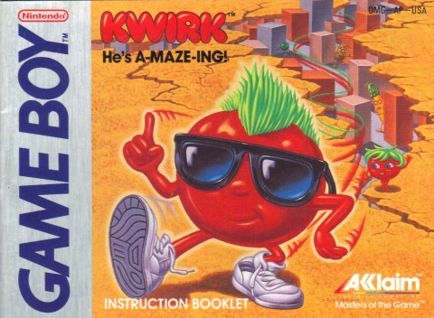 Kwirk (Gameboy Manual)