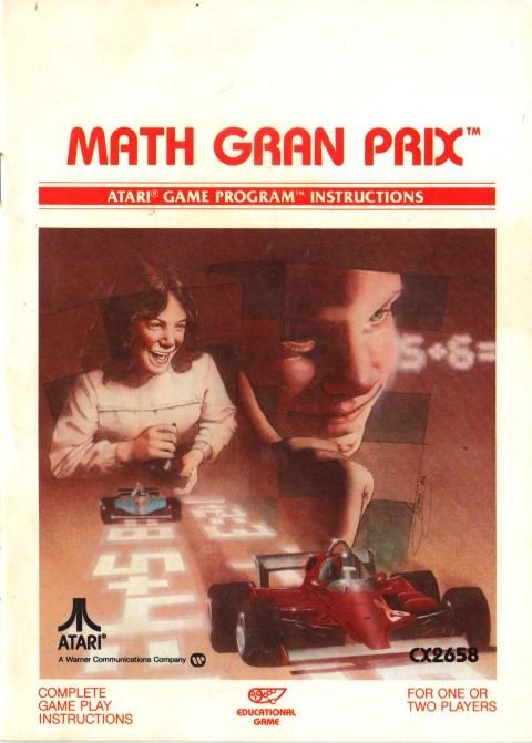 Math Gran Prix (Manual)