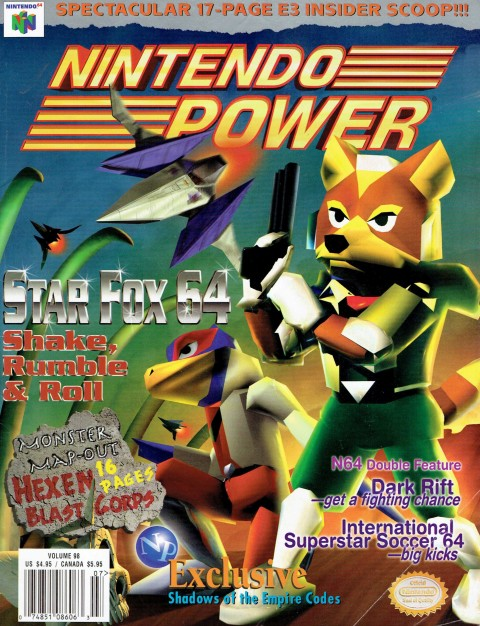 Nintendo Power – Volume 98