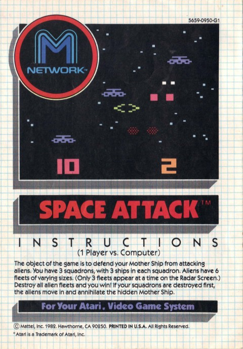 Space Attack (Manual)