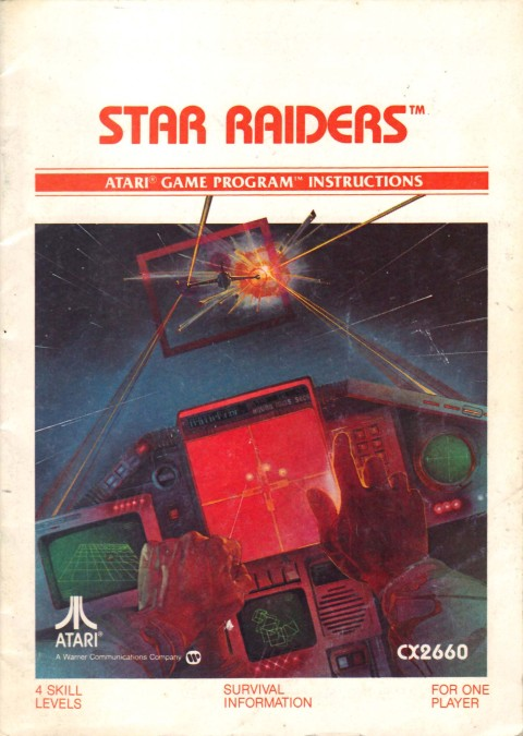 Star Raiders (Manual)
