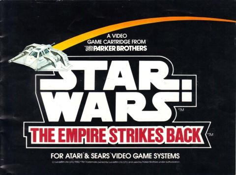Star Wars – Empire Strikes Back (Manual)