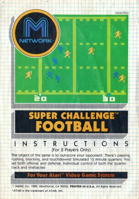 Super Challenge Football (Manual)