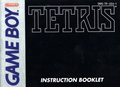 Tetris (Gameboy Manual)
