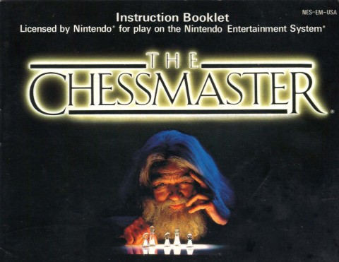 The Chessmaster (NES Manual)