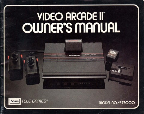 Video Arcade II (Manual)