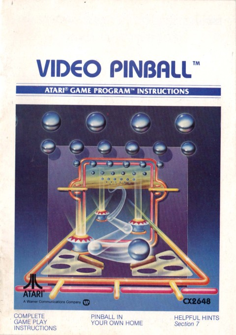 Video Pinball (Manual)