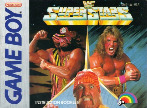 WF Superstars (Gameboy Manual)