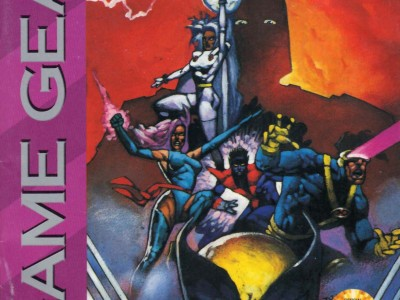 X-Men (Game Gear Manual)