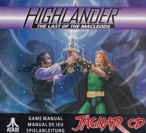 Highlander (Jaguar CD Manual)