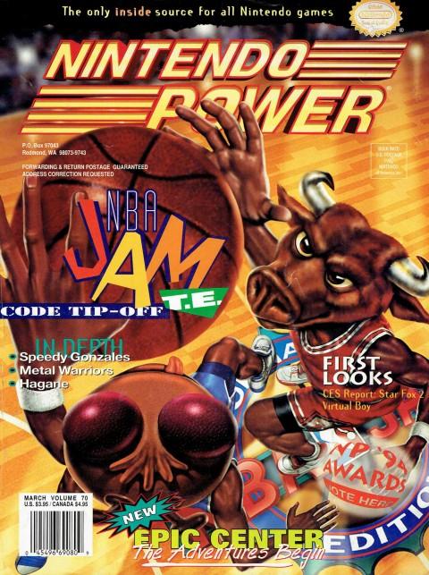 Nintendo Power – Vol 70