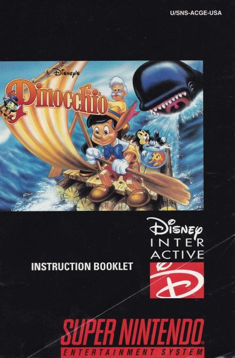 SNES – Pinocchio (Manual)