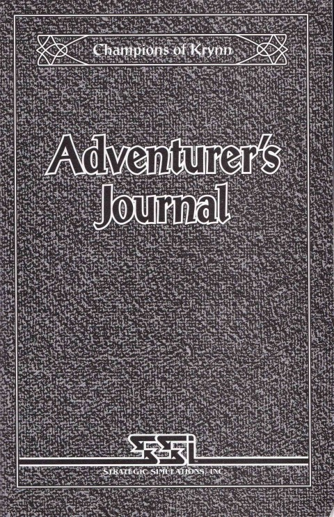 AD&D – Champions of Krynn (Adventurers Journal)