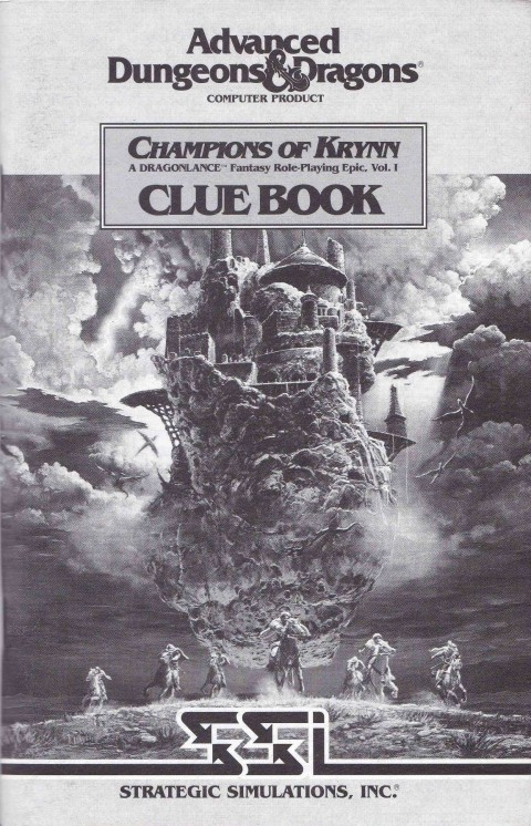 AD&D – Champions of Krynn (Clue Book)