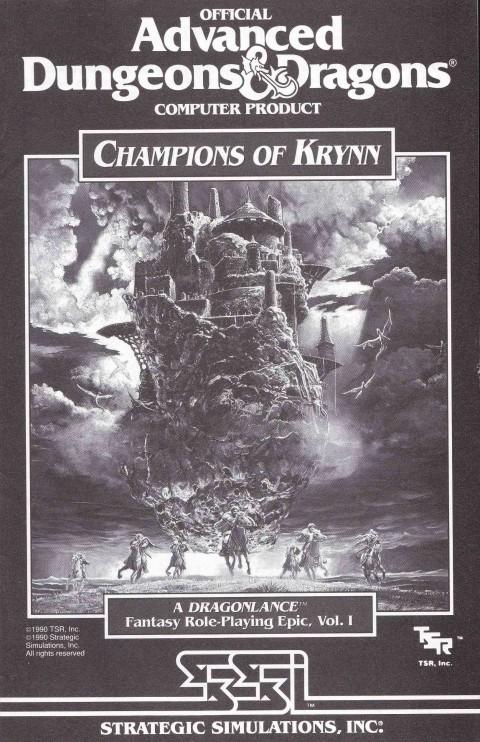 AD&D – Champions of Krynn (Manual)