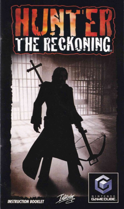 Hunter The Reckoning (Gamecube Manual)