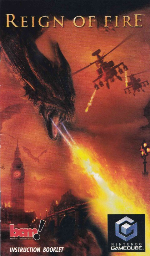 Reign of Fire (Gamecube Manual)