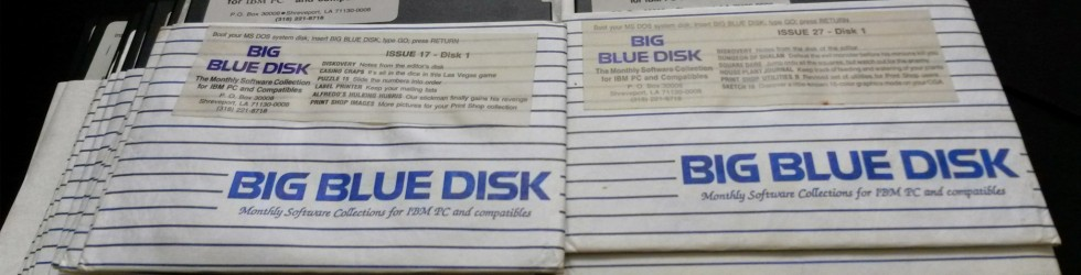 Big Blue Disks