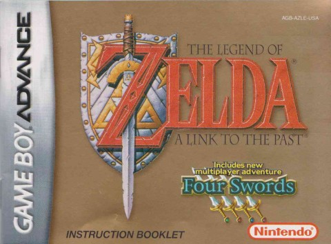 Legend of Zelda – Link to the Past (GBA Manual)