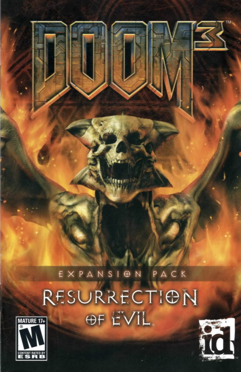 Doom 3 – Resurrection of Evil (Manual)