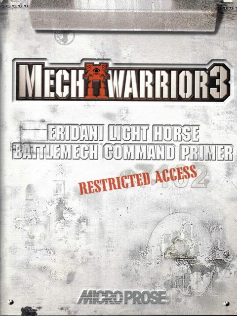 Mechwarrior 3 (Reference Manual)