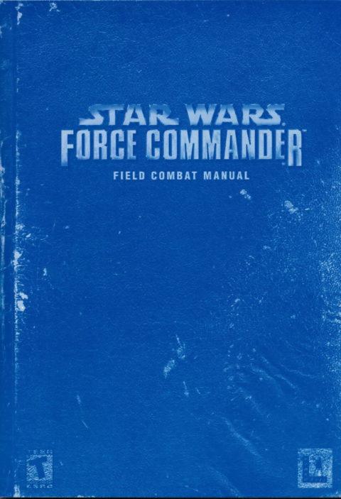 Star Wars: Force Commander (Manual)