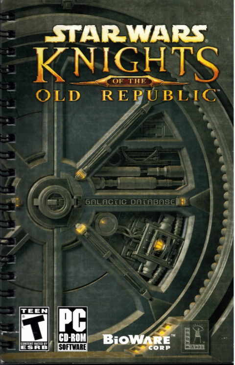 Star Wars: Knights of the old Republic (Manual)
