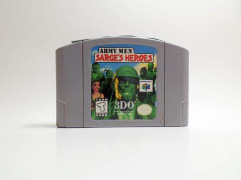 Army Men – Sarges Heroes (Nintendo 64)